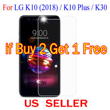 1x Clear LCD Screen Protector Guard Cover Film For LG K10(2018) / K10 Plus / K30