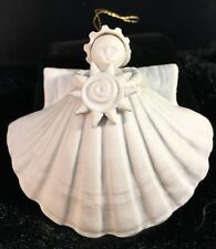 "Margaret Furlong Sea Shell Angel Sun Shell 3"" 1994 Christmas Ornament"