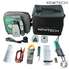 Kewtech 1780 KIT3N, Fuse Finder 2, clamp meter, 103 socket tester, Duo voltstick