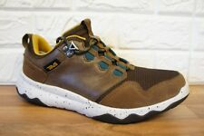 Teva Arrowood Mens Size 6.5 Brown Leather Hiking Trainers Shoes Boots Brand New