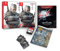 The Witcher III: Wild Hunt Complete Edition Nintendo Switch 2019 Free Shipping