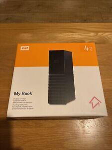 Western Digital My Book 4TB, External,7200 RPM, 3.5 inch (WDBBGB0040HBK-EESN)...