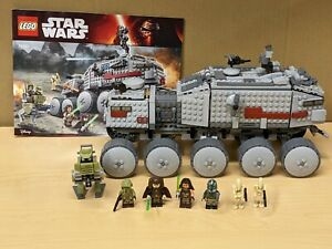 LEGO 75151 Star Wars Clone Turbo Tank 100% Complete w Minifigures & Instructions