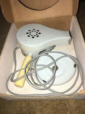 Vintage Chic Electric Hair Dryer Grey/Blue in Original Box with Stand