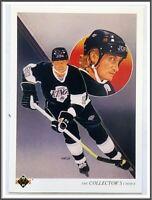 Wayne Gretzky Upper Deck 1990 NHL Trading Card #13 Los Angeles Kings