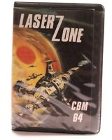 LASER ZONE -- COMMODORE C64 GAME --  BY LLAMASOFT -- 1983