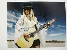 Orianthi of Alice Cooper Autographed Signed 8X10 Photo PSA BAS Guaranteed #4