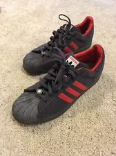 2005 ADIDAS SUPERSTAR 1 Shell Toes RED HOT CHILI PEPPERS GRAPHITE Size 13