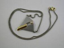 feines Collier Oeding-Erdel Design Platin / Gold 750