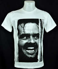 The Shining Jack Nicholson white T-Shirt Indy punk Rock Tee Size M
