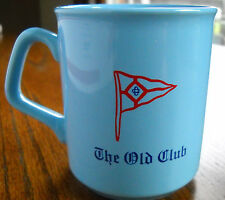 """Vintage Used Coffee Tea Mug Collectible """"THE OLD CLUB"""" Made in  England"""