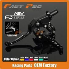 Alloy ASV F3 Series set Clutch Brake Folding Lever Fit Most Motorcycle MX enduro