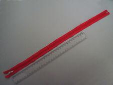 1 x Reißsverschluss, Zipper Rot 44 cm, oder andere