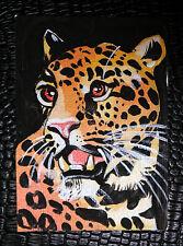 LEOPARD ANIMAL LEOPARD FRACTAL LIGHTART A3 ART PRINT POSTER YF5117