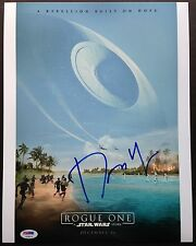 DONNIE YEN SIGNED 11X14 PHOTO AUTOGRAPH PSA COA ROGUE ONE A STAR WARS STORY DNA