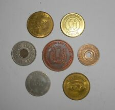 Lot - Nyc Tbta Token & Nyc Transit Token & 1932 A-W Bus Token & 4 Other Tokens