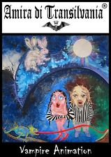 Vampire Animation 4SuckerS movie indipendent artist painting Dracula Twilight 2D