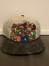 NWT Nintendo Mario BROS DONKEY KONG YOSHI BOWSER Adjustable Snapback Cap HAT