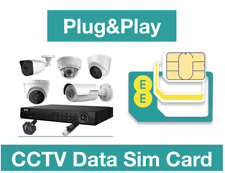 EE 4G/3G PAYGO Data Sim for CCTV Cameras& Baby Monitors Preloaded with 2GB Data