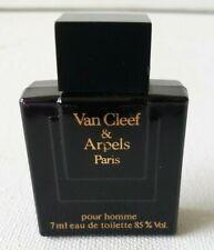 VINTAGE VAN CLEEF & ARPELS POUR HOMME Paris EAU DE TOILETTE 7ML MINI