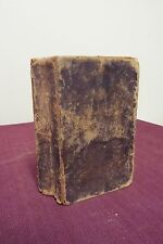1818 Bible, KJV William and Sydia (Family History)