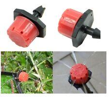 5X MICRO GOCCIOLATORE 14mm irrigatore vaso serra orto tubo acqua goccia giardino