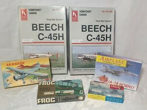 Job lot of Model Kits 1/72 Complete & Incomplete Sets Parts Spares Repairs