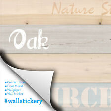Oak Wood Panel Contact Paper Peel and Stick Wallpaper Countertop Shelf Liner