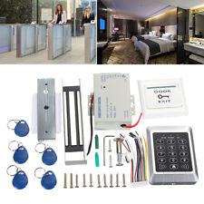 RFID ID Card Keypad 125KHz Doorbell Door Lock Security Access Control System Kit