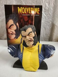 SIDESHOW WOLVERINE LEGENDARY SCALE BUST STATUE 87/500