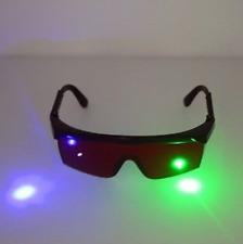 USA (green/purple/blue)190nm-540nm Safety Glasses Goggles For Laser Pointer Pen