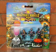 Military Muscle Men  NIGHT RAID 1 Action Figures  MOC Carded Vintage 90s Sealed