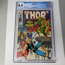Thor #175 CGC 6.5 OWTW Pages The Fall of Asgard Loki Cover Marvel Comics 1970