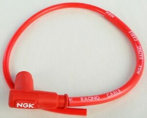 NGK CR2 Single Lead Motorcycle Wire 90 50cm Spark Plug wire 8048 CR28048