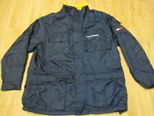 Vintage Tommy Hilfiger Jacket XL Blue Yellow Box