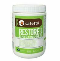 ORGANIC DESCALER Espresso Coffee Machine & Equipment Cleaner 1kg CAFETTO RESTORE