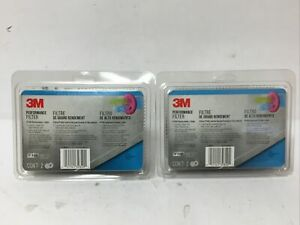 Lot Of (2) 3M Performance Filter 2097 (2 Pairs = 8 Filters)