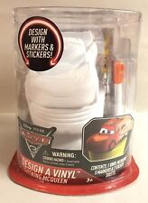 Disney Cars 3 Design A Vinyl Color Figure Arts & Crafts New Lightening McQueen