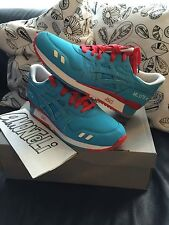 "BRAND NEW BAIT X ASICS GEL-LYTE III RINGS PACK ""BLUE RING"" SIZE 12 - DEADSTOCK!"