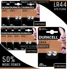 Duracell LR44 Battery AG13 357 A76 RW82 L1154 SR44 AG 13 Coin Cell Batteries