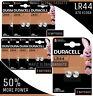 Duracell LR44 Battery AG13 357 A76 RW82 L1154 SR44 AG 13 Coin Cell Batteries