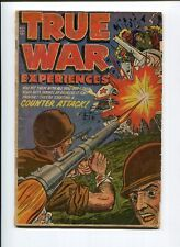 TRUE WAR EXPERIENCES 1 VG SPARLING 1952