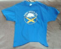 "Rare Vintage Buffalo Sabres T-Shirt Men Size XL NHL Hockey ""Lindy Ruff's Tie"""