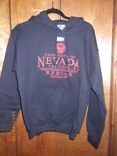 University of Nevada Rebels UNLV Las Vegas College Hoodie Sweatshirt Small Black