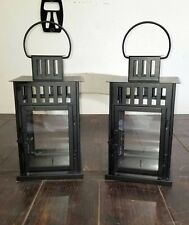 Candle Lanterns (Black) - FREE SHIPPING - For Indoor & Outdoor Use - IKEA