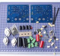 2pcs 2 Two Channel JLH 1969 A CLASS A Amplifier Board DIY Kit ST2N3055 MKP