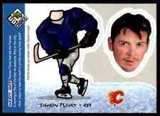 1998-99 UD Choice Mini Bobbing Extreme Halifax Mooseheads Theoren Fleury #BH 25