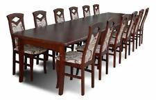 Esstisch + 12 Stühle Esszimmer Set Essgruppe Klassischer Tisch Tische Neu Z34