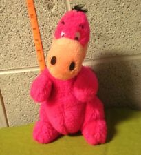 FLINTSTONES plush Dino doll Hanna-Barbera stuffed animal 1980 toy