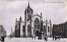 VALENTINES POSTCARD ST GILES CATHEDRAL EDINBURGH - VERY EARLY IMAGE C1890
